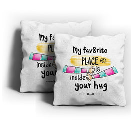 Inside Your Hug Cushion Cover