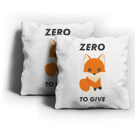 Zero Fox To Give Cushion Cover