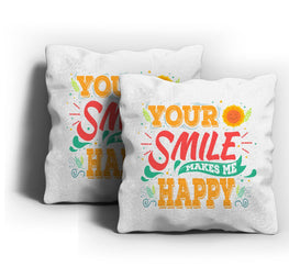 Happy Smiles Cushion Cover