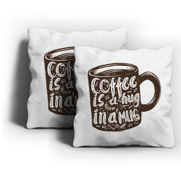 Hug In Mug Cushion Cover