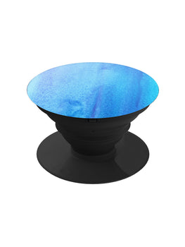 Blue Art Strokes Pop Grip Socket