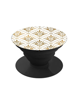 Gold Motifs Pattern Pop Grip Socket