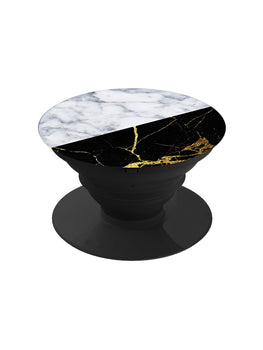 Black and White Stone Pop Grip Socket