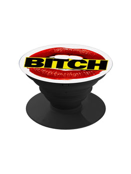 Bitch Lips Pop Grip Socket