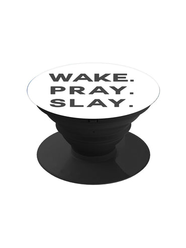 Wake Pray Slay Pop Grip Socket