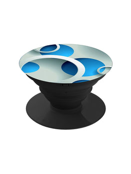 Blue Circles Pop Grip Socket