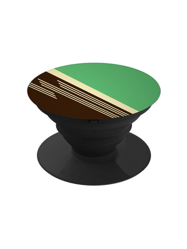 Brown Green Abstract Pop Grip Socket