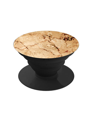 Brown Marble Pop Grip Socket