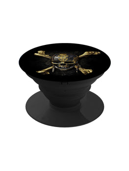 Skull Of Pirate Pop Grip Socket