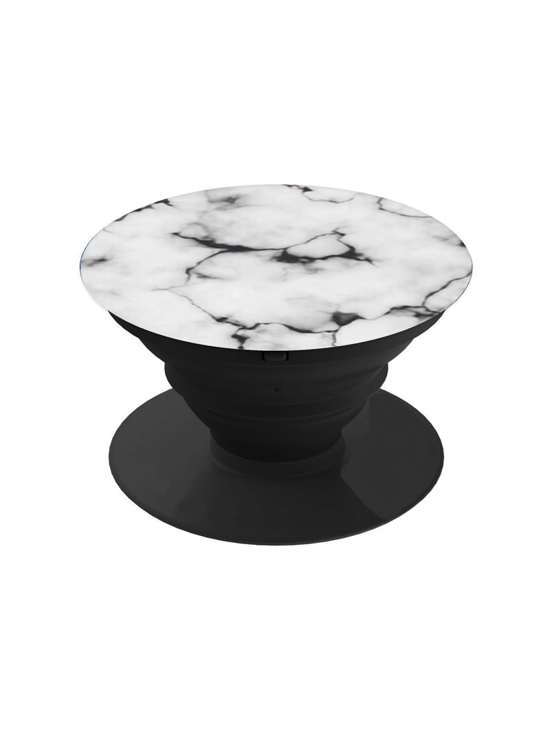 Raw White Marble Pop Grip Socket