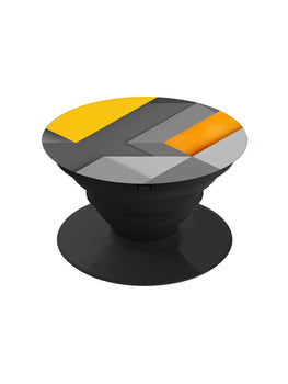 Yellow Geometry Pop Grip Socket