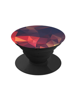 Red Poly Texture Pop Grip Socket