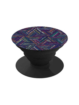 Multicolor Geometry Pop Grip Socket
