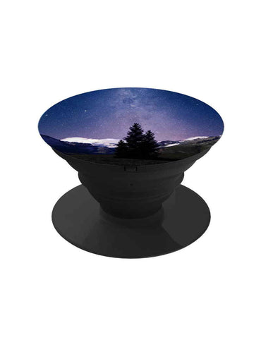 Starry Night Forest Pop Grip Socket