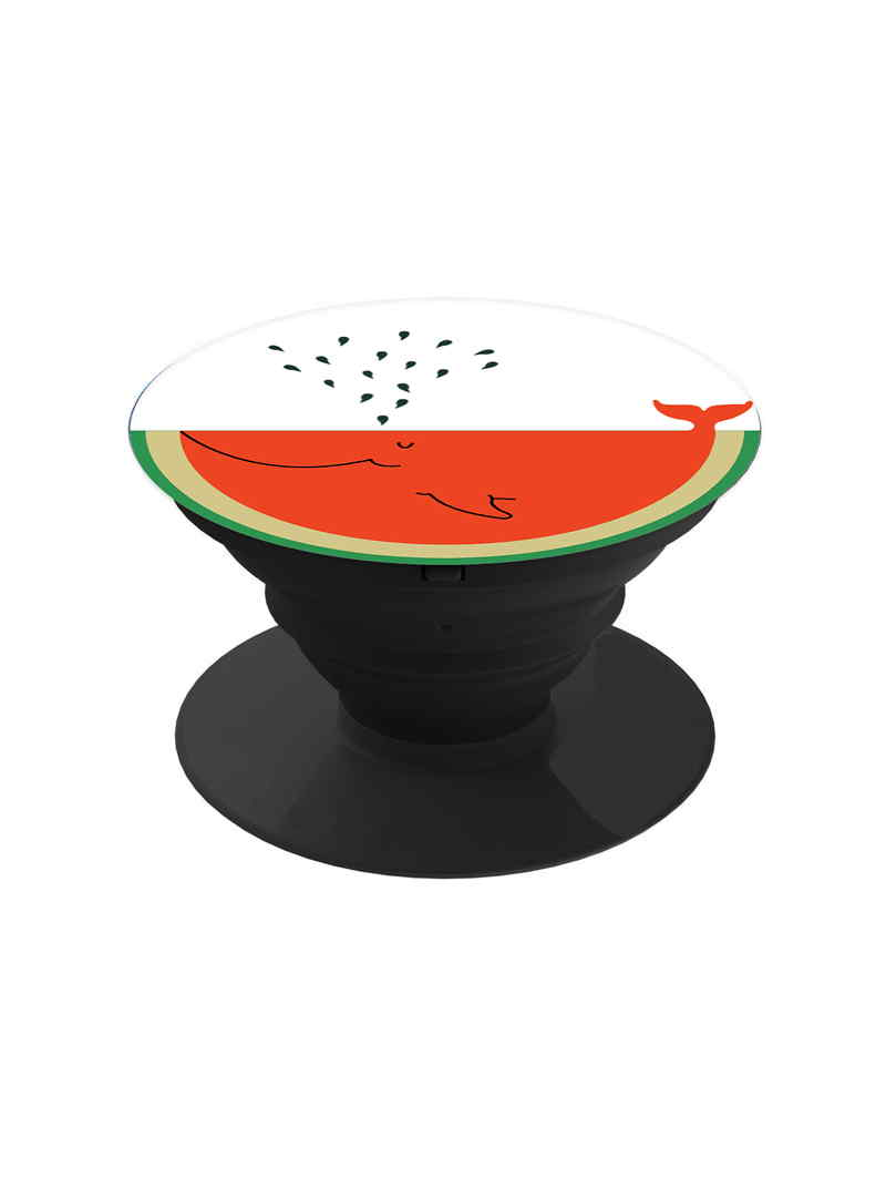 Watermelon With Fish Pop Grip Socket