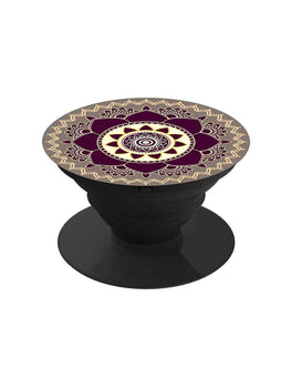 Beautiful Mandala Art Pop Grip Socket
