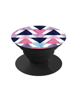 Colorful Triangles Pop Grip Socket