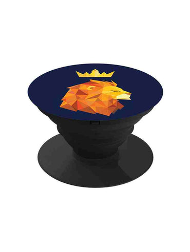 Lion Is The King Pop Grip Socket
