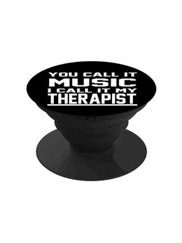 Music My Therapist Pop Grip Socket