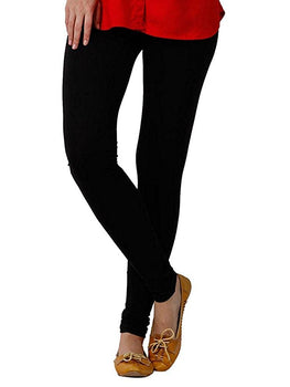 Premium Super Soft Stretchable Free Size Black Leggings for Women