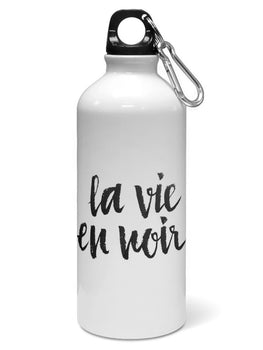La Vie En Noir Water Sipper Sports Bottle