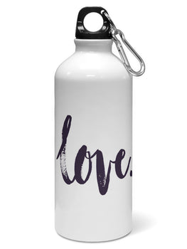 Love Water Sipper Sports Bottle