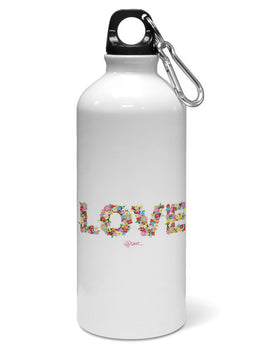 Love Floral Water Sipper Sports Bottle
