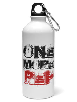 One More REP Water Sipper Sports Bottle