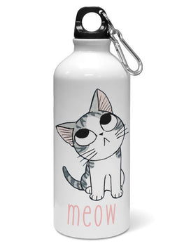 Meow Water Sipper Sports Bottle