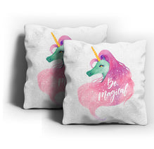 Be Magical Unicorn Cushion Cover