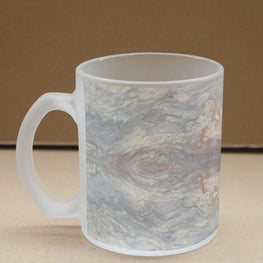 Floor Marble Frosted Glass Coffee Mug