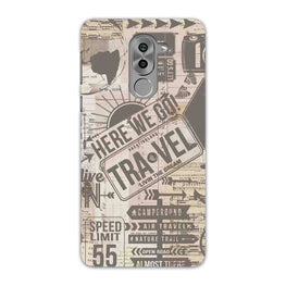 Wanderlust Graffiti Honor 6X Mobile Cover Case