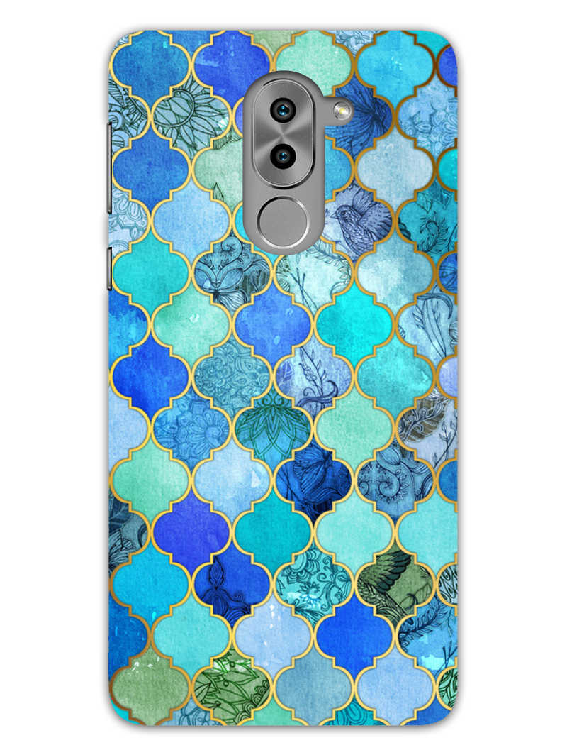 Morroccan Pattern Honor 6X Mobile Cover Case