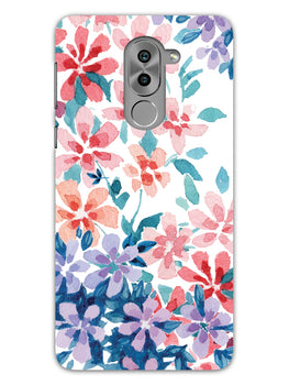Floral Art Honor 6X Mobile Cover Case