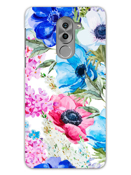 Hand Painted Floral Honor 6X Mobile Cover Case