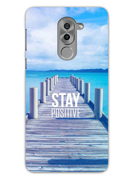 Stay Positive Honor 6X Mobile Cover Case