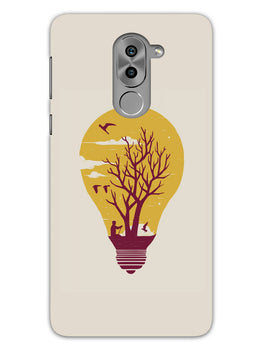 Live Life With Nature Honor 6X Mobile Cover Case
