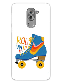 Roller Skate Play With Fun Honor 6X Mobile Cover Case