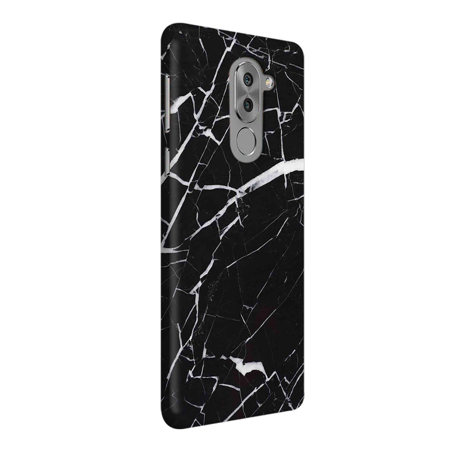 Dark Marble Honor 6X Mobile Cover Case