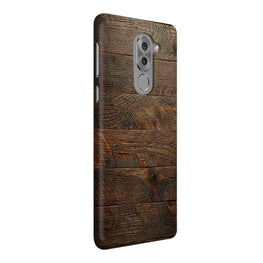 Wooden Wall Honor 6X Mobile Cover Case