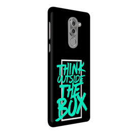Think Outside The Box Motivation Quote Honor 6X Mobile Cover Case