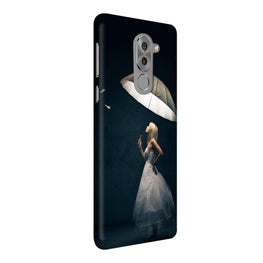 Girl With Umbrella So Girly  Honor 6X Mobile Cover Case