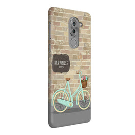Enjoy The Ride With Bycycle Honor 6X Mobile Cover Case