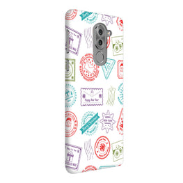 Stampes Pattern Everywhere White  Honor 6X Mobile Cover Case