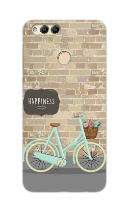 Enjoy The Ride With Bycycle Honor 7X Mobile Cover Case