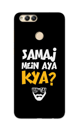 Samaj Mein Aya Kya Emiway Bantai Song  Honor 7X Mobile Cover Case
