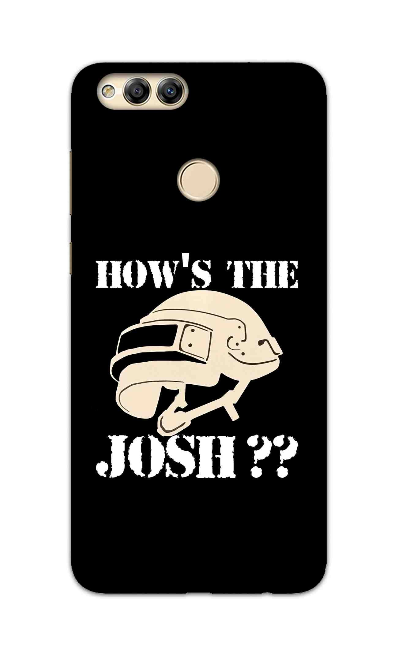 Hows The Josh For Game Lovers Honor 7X Mobile Cover Case