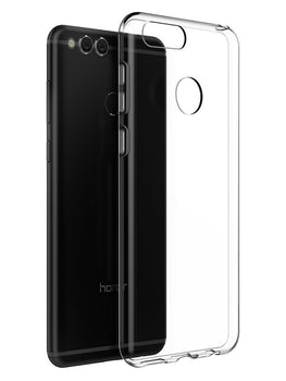 Honor 7X Transparent Clear Soft TPU Mobile Cover Case