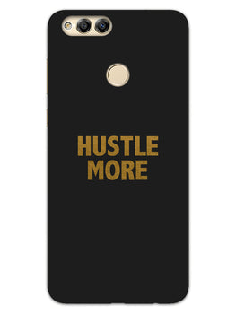 Hustle More Honor 7X Mobile Cover Case