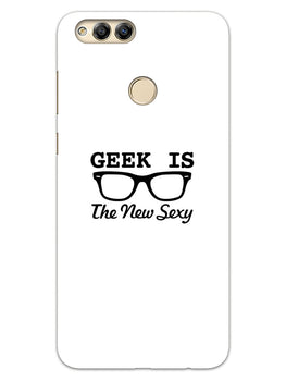 Geek Is Sexy Honor 7X Mobile Cover Case